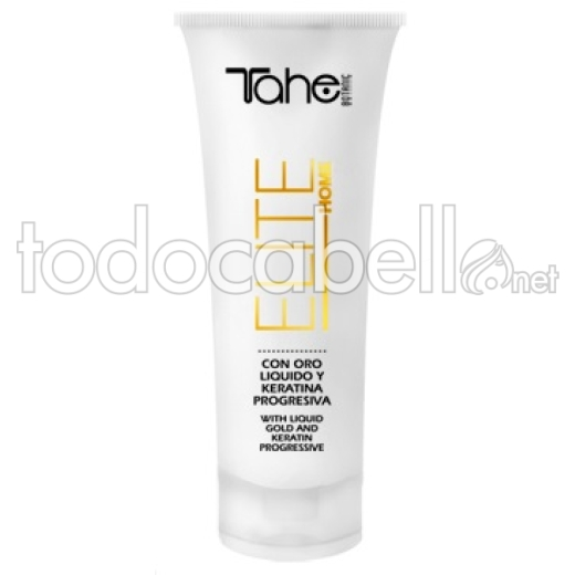 Tahe Elite Home Oro líquido y Keratina progresiva 30ml