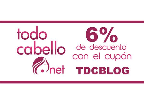 Cupón blog Todocabello