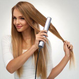 Protector de pelo antes de plancharlo