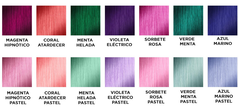 coloful loreal