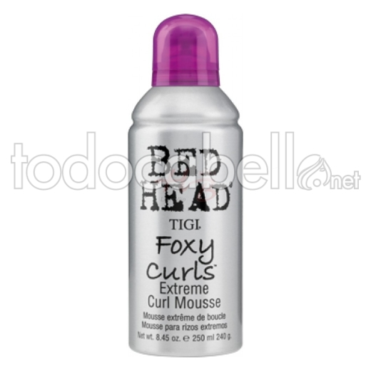 Bed Head Foxy Curls Extreme Curl Mousse 250 Ml Tigi