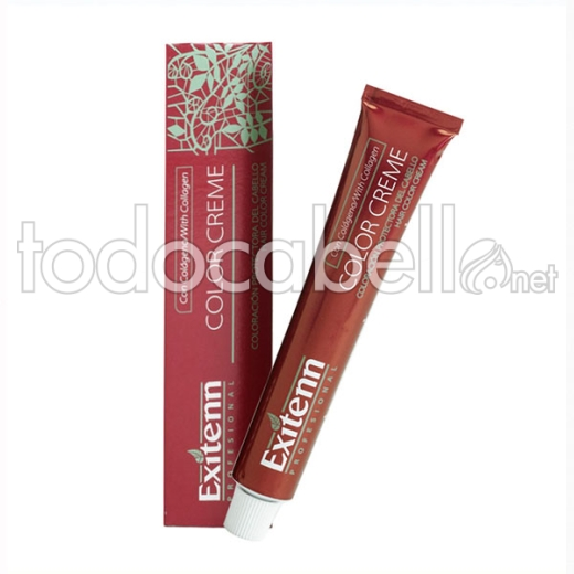 Exitenn Color Creme 60 Ml , Color 8444 Rubio Claro Cobre Volcan