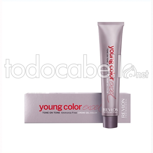 Revlon Young Color Excel 70 Ml, Color 6.64
