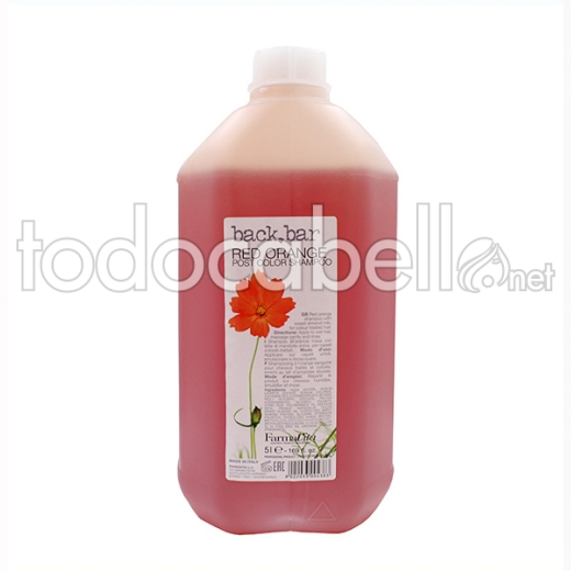 Farmavita Back Bar ChampÚ Red Orange 5ltr