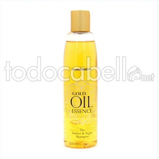 Montibello Gold Oil Essence Amber Y Argan ChampÚ 250 Ml