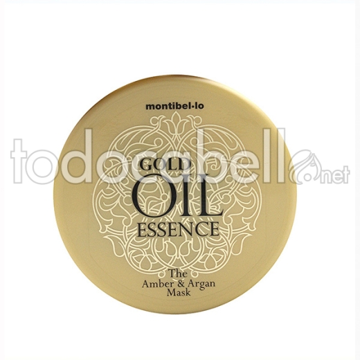 Montibello Gold Oil Essence Amber Y Argan Mascarilla 200 Ml