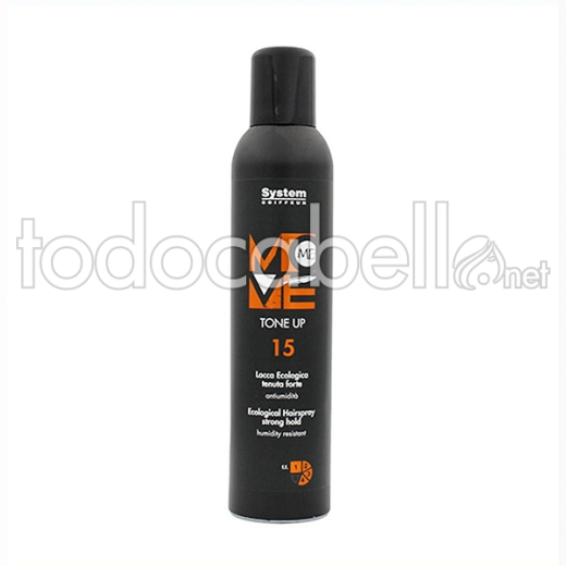 Dikson Sc Move Me 15 Tone Up 350 Ml Laca ecológica fuerte antihumedad.