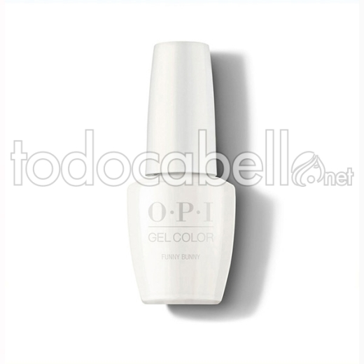 Opi Gel Color Funny Bunny / Blanco 15 Ml (gc H22a)
