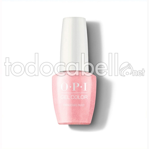 Opi Gel Color Princesses Rule / Rosa 15 Ml (gc R44a)