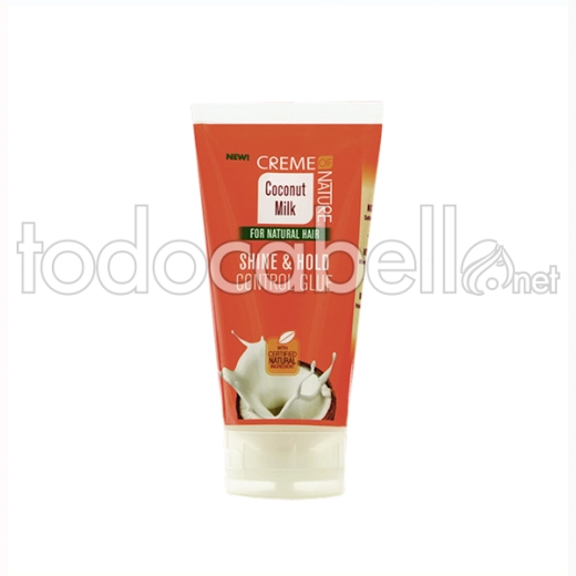 Creme Of Nature Milk Shine & Hold Control Glue 150 Ml