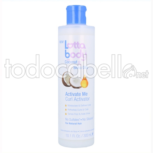 Lottabody C&so Activate Me Curl Activator 300 Ml
