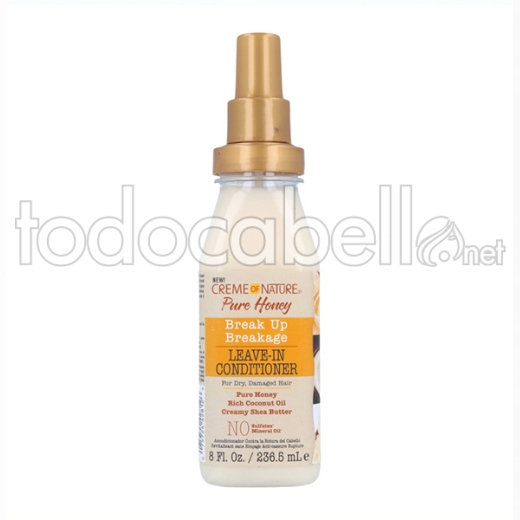 Creme Of Nature Pure Honey Break Up Leave In Acondicionador 236.5 Ml