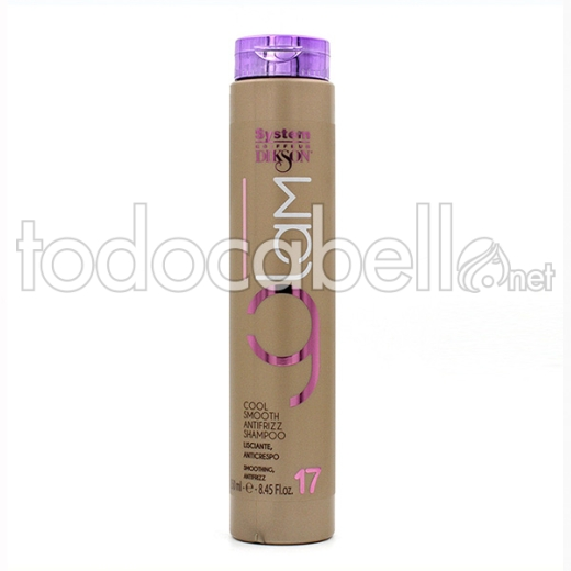 Dikson Glam 17 Champú Cool Smooth Antifrizz 250 Ml