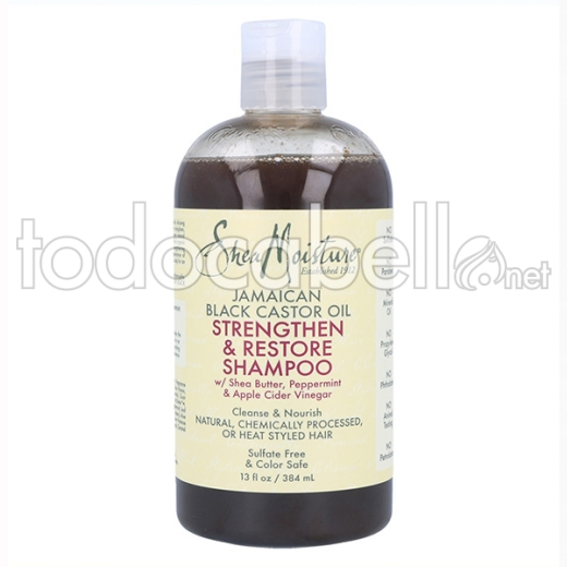 Shea Moisture Jamaican Black Castor Oil Shampoo 384 Ml/13oz