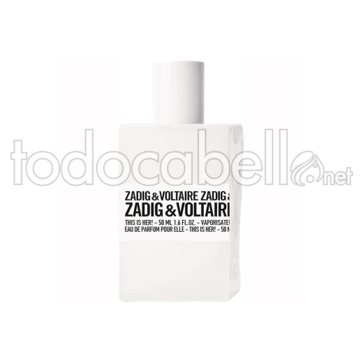 Zadig & Voltaire This Is Her!50ml V.edp
