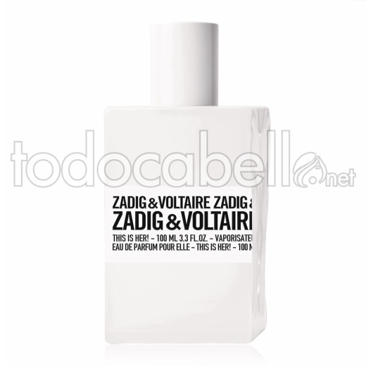 Zadig & Voltaire This Is Her!100ml V.edp