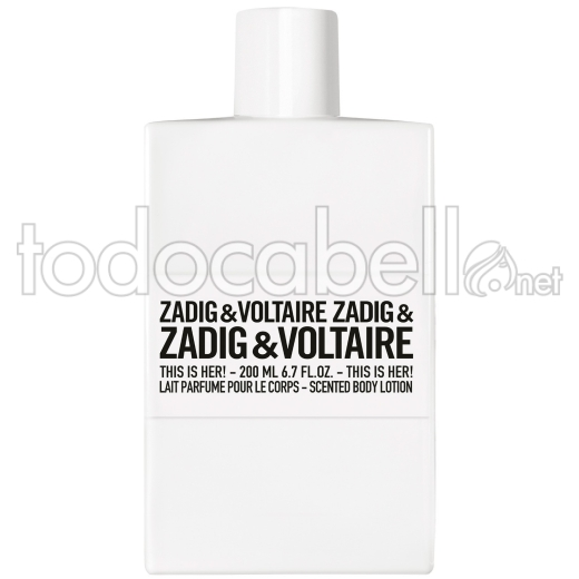 Zadig & Voltaire This Is Her! B.l.200ml