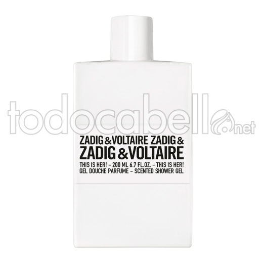 Zadig & Voltaire This Is Her! Gel 200ml