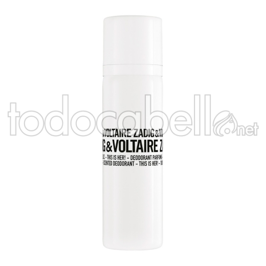Zadig & Voltaire This Is Her! Desodorante Vapo. 100ml