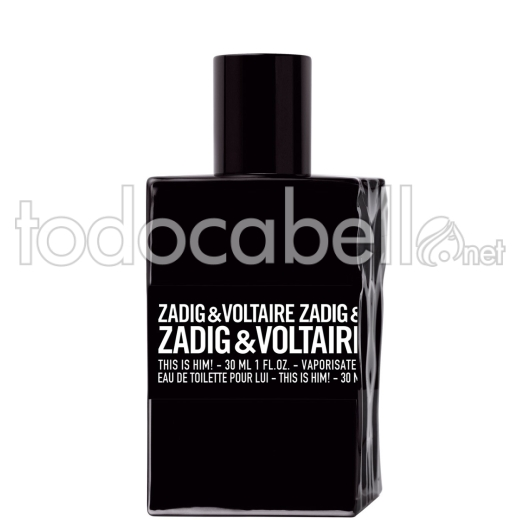Zadig & Voltaire This Is Him! EDT 30ml Vapo
