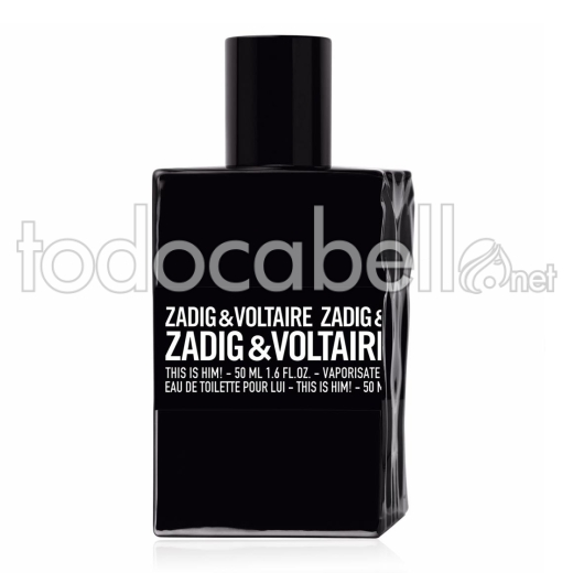 Zadig & Voltaire This Is Him! 50ml V.edt