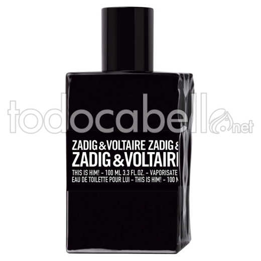 Zadig & Voltaire This Is Him!100ml V.edt