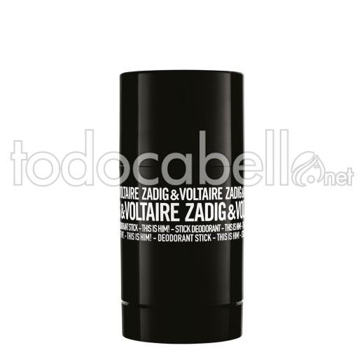 Zadig & Voltaire This Is Him! Deo S.75gr