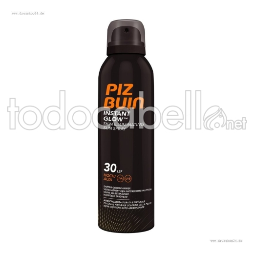 Piz Buin Spray Iluminador Fps30 150ml