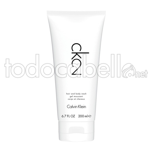 Ck2 Calvin Klein Shower Gel 200ml