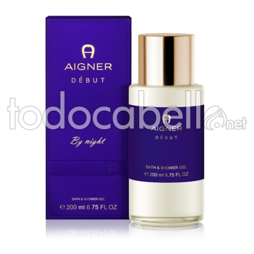 Aigner Debut By Night Lux.b&s Gel 200 Ml