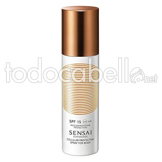 Kanebo Silky Bronze Prot. Spray Body Spf