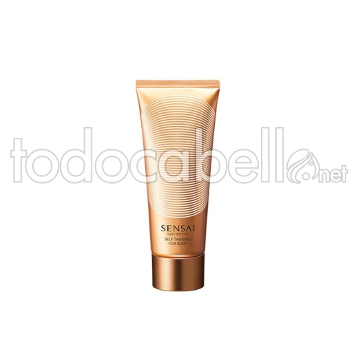 Kanebo Silky Bronze Self Tanning Body