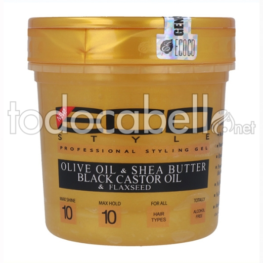 Eco Styler Styling Gel Gold (10) 16oz/473 Ml
