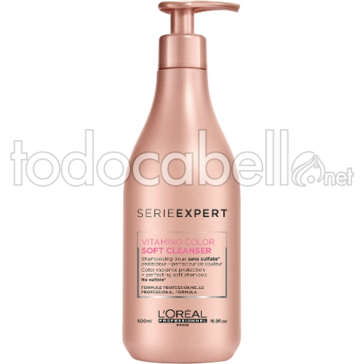L´Oreal Expert Vitamino Color SOFT CLEANSER Champú cabellos teñidos 500ml