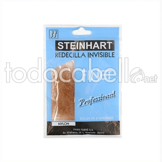 Steinhart Red Invisible Finet Nylon Castaño Oscuro 2u