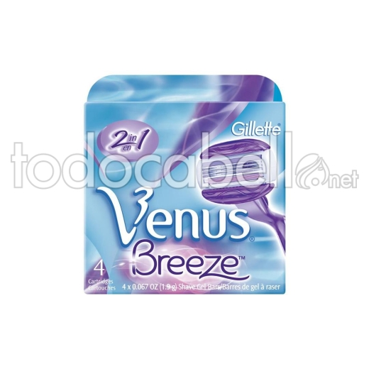 Gillette Venus Breeze 4's