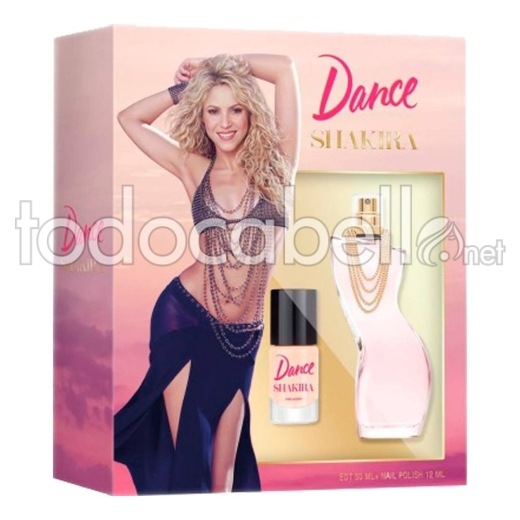 Shakira Dance Edt 80ml Vapo + Nail Polish