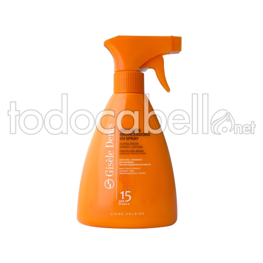 Gisele Denis Emulsion Bronceador Spray Fps15 300