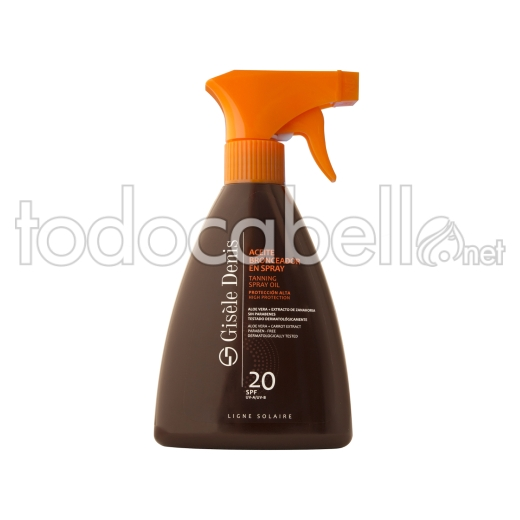 Gisele Denis Aceite Bronceador Spray Fps20 300ml
