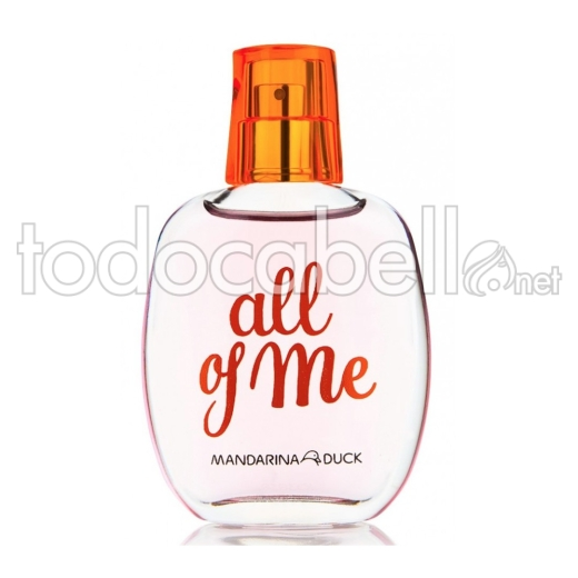 Mandarina Duck All Of Me Woman Eau De Toilette Vaporizador 30 Ml