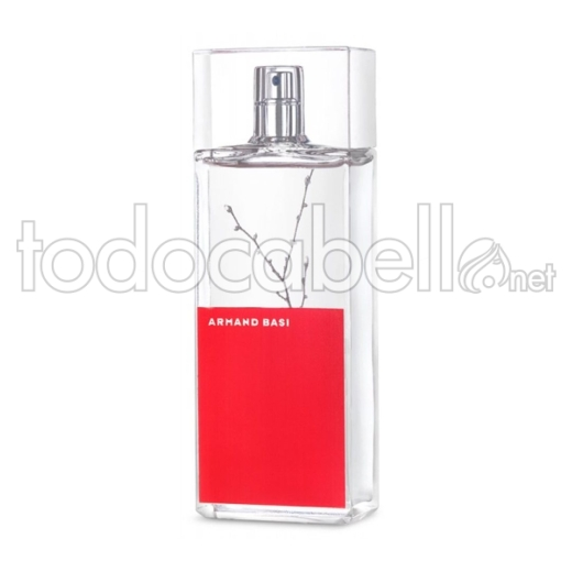 Armand Basi In Red Eau De Toilette 50 Vaporizador