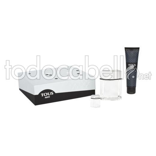 Tous Man Edt 100 Vapo+as150ml + Mini 4.5