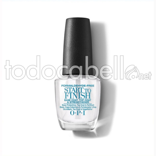 Opi Start To Finish 3-in-1 Base/top/streng 15 Ml (nt Fg)