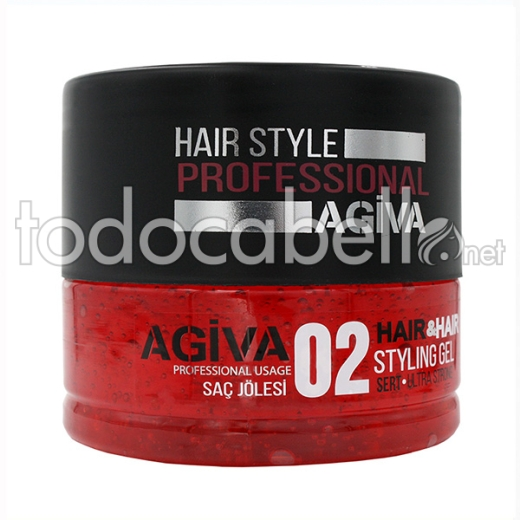 Agiva Styling Gel 02 700 Ml (ultra Strong)