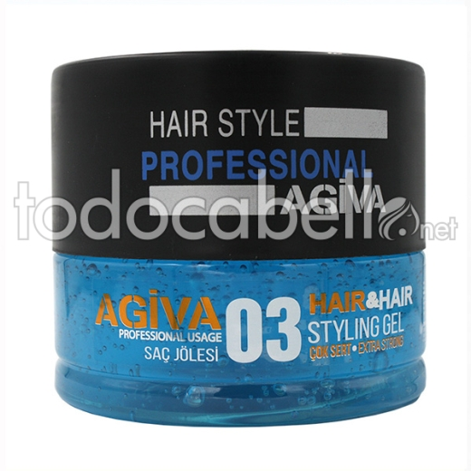 Agiva Styling Gel 03 700 Ml (extra Strong)
