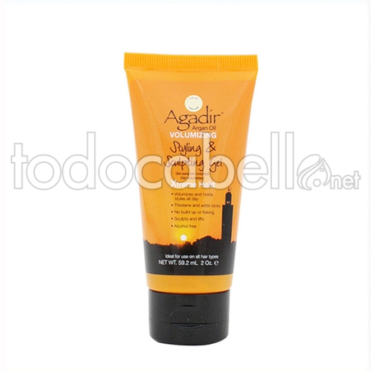 Agadir Argan Oil Styling & Sculpting Gel, 60 Ml