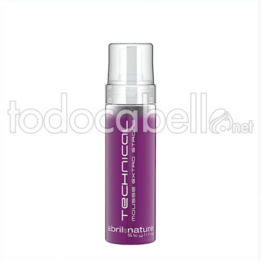 Abril Et Nature Technical Mousse Ex-strong 200 Ml
