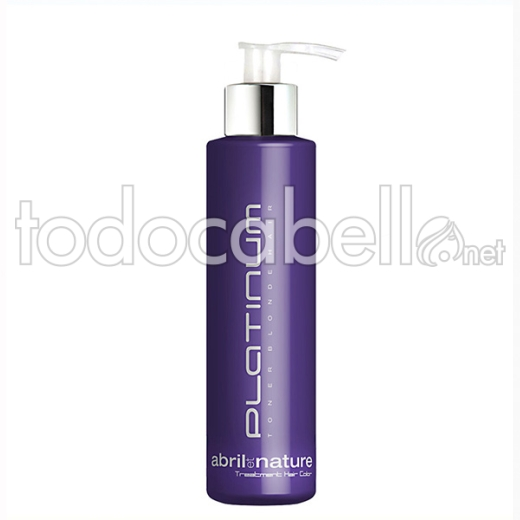 Abril Et Nature Platinum Mascarilla 200 Ml (toner Rubio)