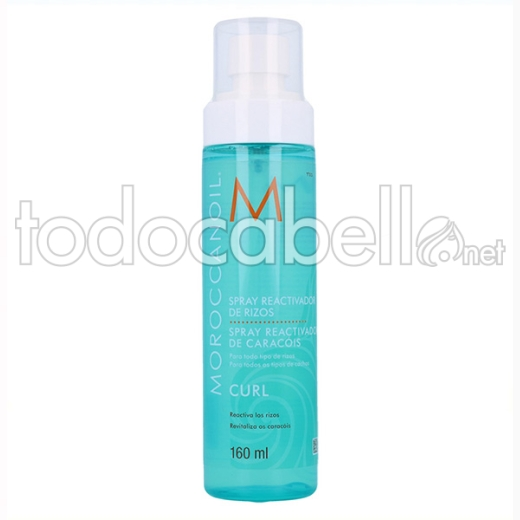 Moroccanoil Curl Spray Reactivador Rizos 160 Ml