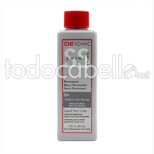 Farouk Chi Ionic Shine Shades Liquid Color 8a 89ml